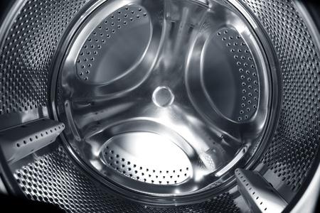 Metal circular element of washing machine.  photo