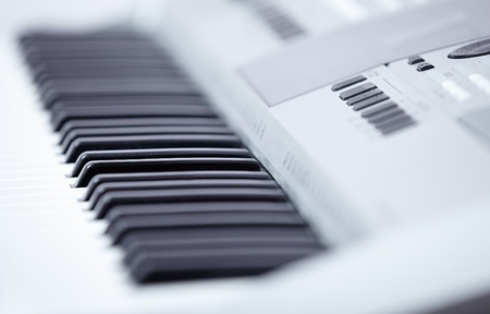 melodist: Electronic music instrument,Close-up. Shallow depth of field added for natural look Stock Photo