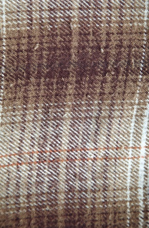 flannel: Textured frieze. Close-up color photo Stock Photo