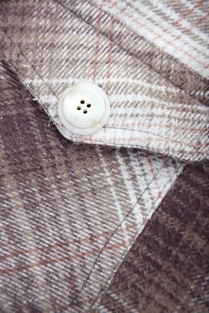 friso: Pocket con el bot�n de la camisa friso. Close-up foto