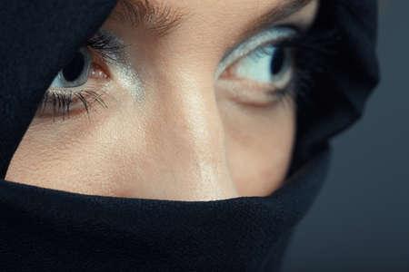 Ninja in special black costume Stock Photo - 16661917