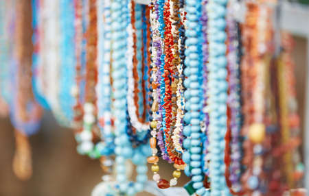 flea market: Handmade beads at the flee market