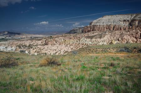touchstone: Rock formations of Cappadocia. Turkey.