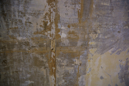 parget: Texture of old wall with damaged plaster. Stock Photo