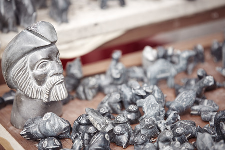 antiquary: Old things for sale at Turkish antique store Stock Photo