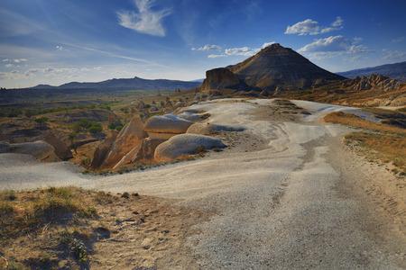 touchstone: Rock formations of Cappadocia.  Stock Photo