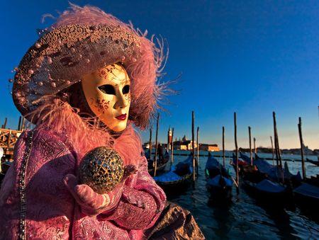 venice italy: Mask in Venice, Italy  Stock Photo