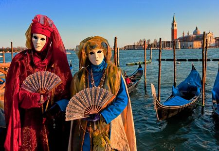 italy culture: Masks in Venice, Italy