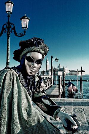Mask in Venice, Italy  photo