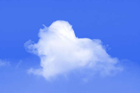 Heart of clouds symbol of love Stock Photo - 6304565