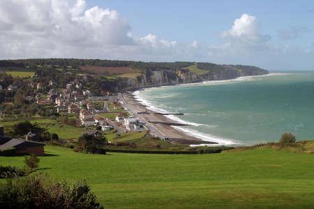 Normandy Coastline - France Stock Photo - 2410259
