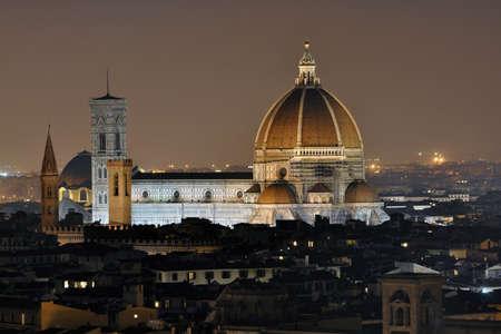 Firenze Duomo - Santa Maria del Fiore, la catedral (Duomo di Firenze, Cattedrale Santa Maria del Fiore), Italia Foto de archivo