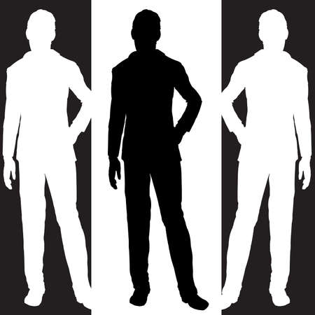 common people: business man standing