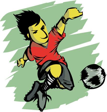 effort: football action