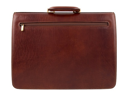 Business case made of fine leather photo