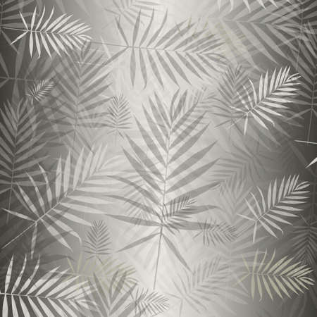 silvery: Silvery background with carved leaves