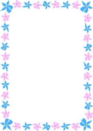 graceful: Graceful framework from gentle drawn flowers