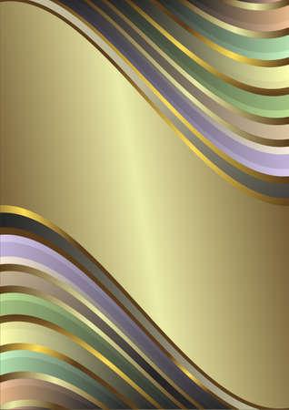 Diagonal gentle retro pastel  stripes  background (vector) Stock Vector - 4386321