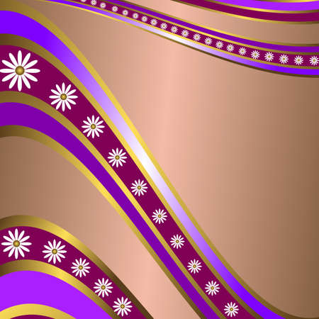 lilas: Abstract lilas  floral  frame with  place for the text