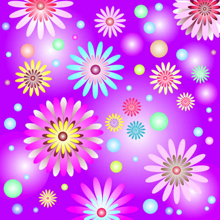 lilas: Abstract lilas gentle floral background