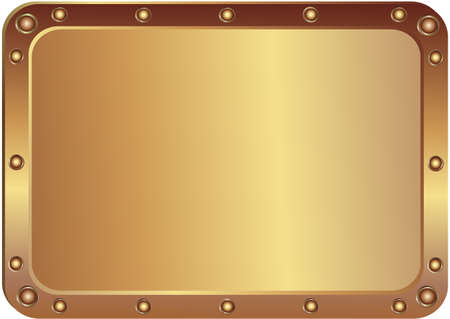 metallic border: Metal  platinum with the rounded corners
