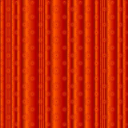 Orange floral  background (vector) Vector