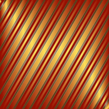 Diagonal orange and red striped background Vector