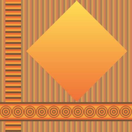 Retro geometric  background (vector) Stock Vector - 4480339