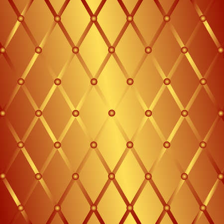 Bronze geometric background (vector) Vector
