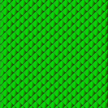 Sparkling background from small green rhombuses (vector Vector