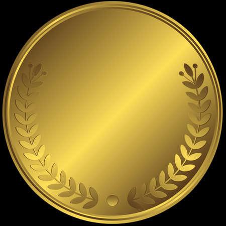 goldmedaille: Gold-Medaille Illustration