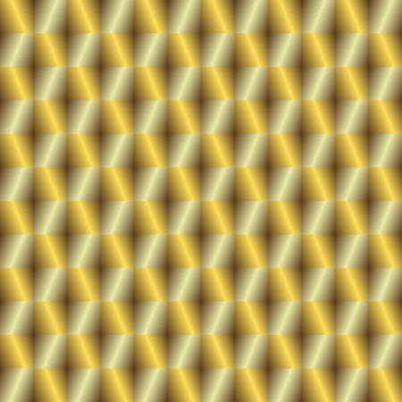 Gold and silver seamless background Vector