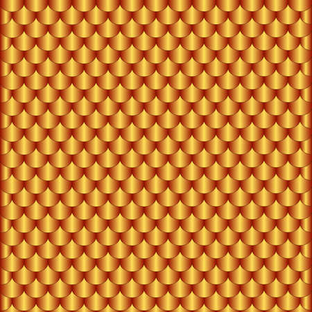 Homogeneous abstract pattern from bronze scales Vector