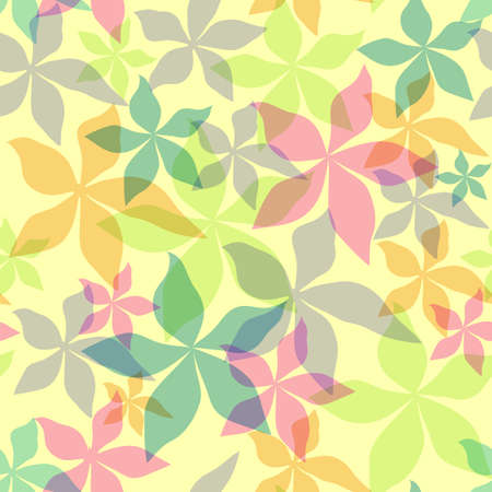 Abstract seamless floral background Stock Vector - 4962302