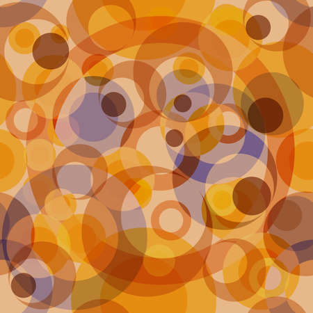 Abstract seamless background with concentric circles (vector) Vector