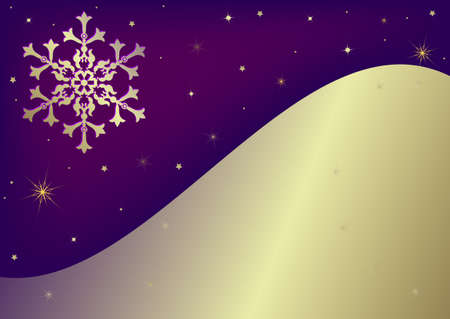 lilas: Abstract  lilas background with snowflake