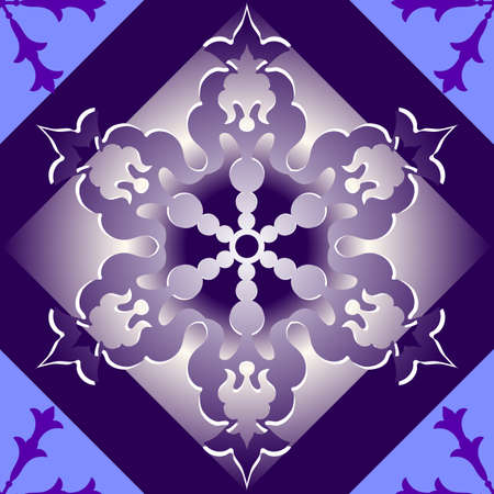Abstract christmas seamless lilas background  Vector