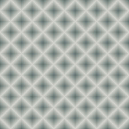 Silvery seamless metal geometric background (vector) Vector