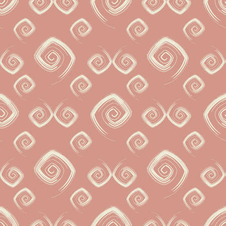 Abstract seamless pink pattern (vector) Vector