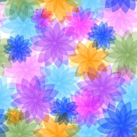 abstract seamless: Abstract seamless floral pattern