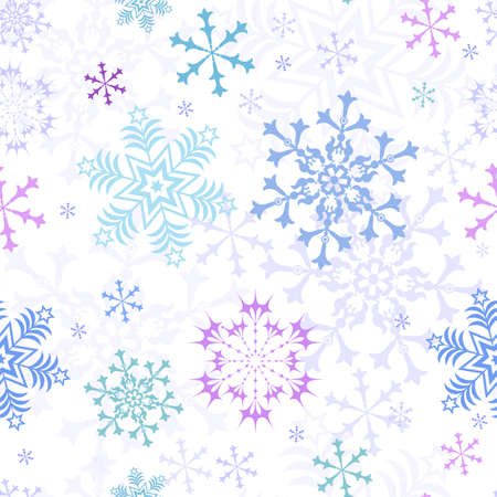 Abstract christmas pastel seamless pattern Stock Vector - 5546689
