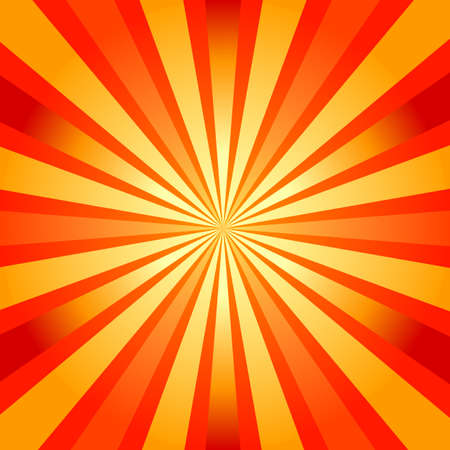Abstract  background with sunburst (vector) Illustration