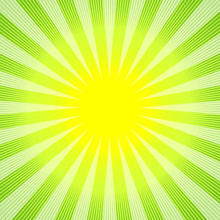 Abstract green-yellow background (vector) Vector