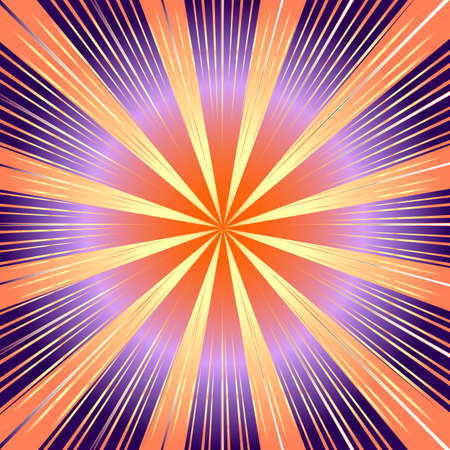 lilas: Abstract  background with lilas and pink rays (vector)