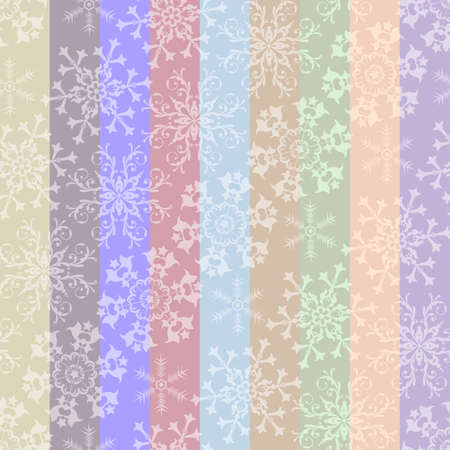 Abstract christmas striped pastel seamless pattern (vector) Vector