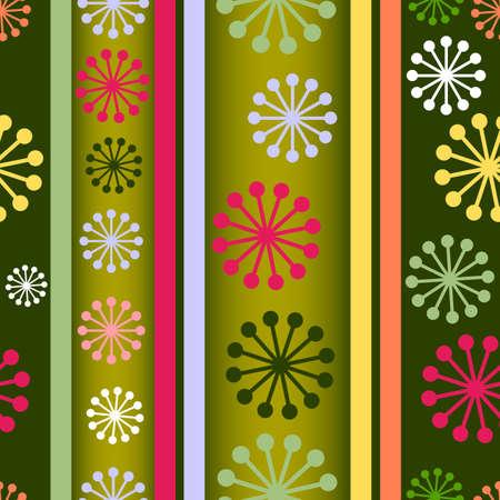 Striped retro seamless  background Vector