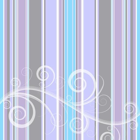 Gentle retro pastel stripes background (vector) Vector