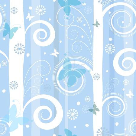 Seamless fantastic christmas pattern (vector) Vector
