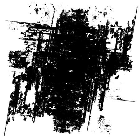 cracks: Grunge black background (vector) Illustration
