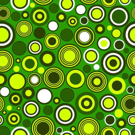 Green abstract seamless background (vector) Stock Vector - 6070178